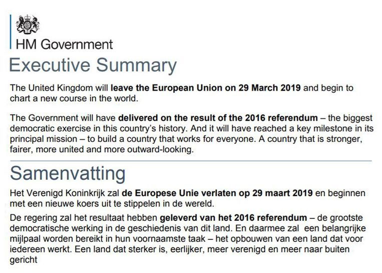 bad translation of brexit document